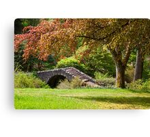 A Botanical Walk Canvas Print