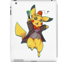 11th Doctor Pika Who? iPad Case/Skin