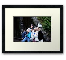 Models, Photographers, Wardrobe Stylist Framed Print