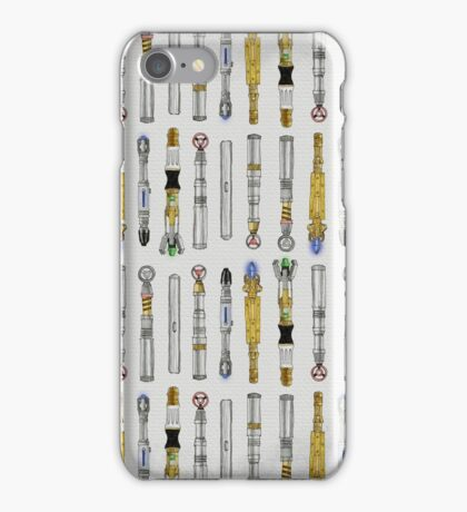 Dr. Who Sonic Screwdrivers iPhone Case/Skin