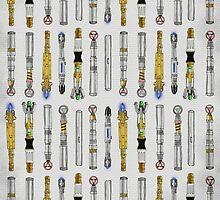 Dr. Who Sonic Screwdrivers by cinderkella