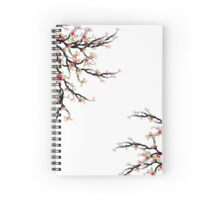 Cherry Blossoms Tree Spiral Notebook