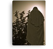 White Mary II Canvas Print