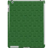 Rock, Paper, Scissors, Lizard, Spock Green iPad Case/Skin
