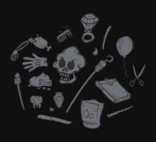The Curse of Monkey Island Inventory (gray) by klook