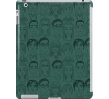 Big Bang Theory Characters Teal iPad Case/Skin