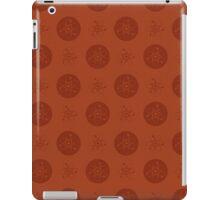 Orange Atom Polka Dots iPad Case/Skin