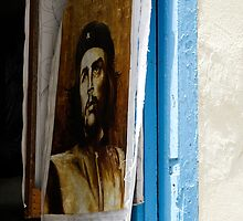 Che Guevara painting, Art shop, Cuba by buttonpresser