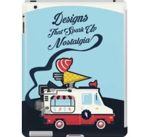 Nuance Retro: Ice Cream Truck Time Machine   iPad Case/Skin