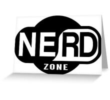 Nerd Zone Greeting Card