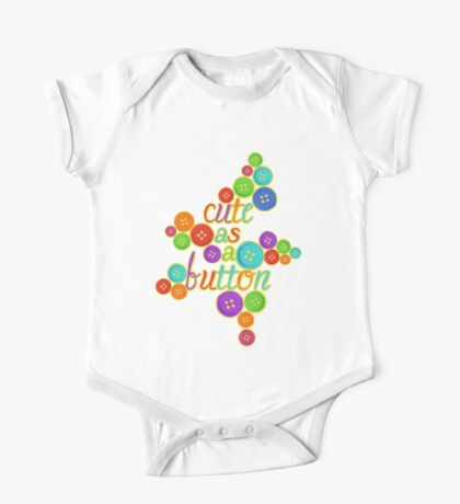 Cute as a Button Kids Clothes