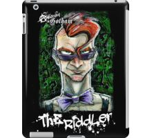Punk Rock Riddler iPad Case/Skin