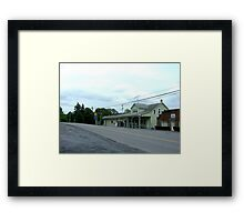 Gore Grocery Framed Print