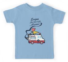 Nuance Retro: Ice Cream Truck Time Machine   Kids Tee