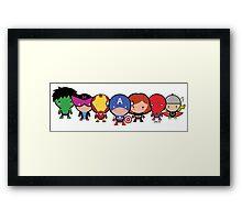 The Cute Avengers Framed Print