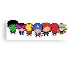 Cute Avengers Canvas Print