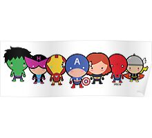 Cute Avengers Poster