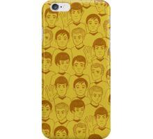 Star Trek Original Characters Yellow iPhone Case/Skin