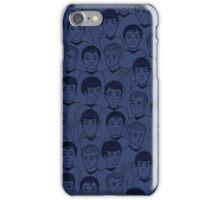 Star Trek Original Characters blue iPhone Case/Skin