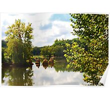 James River In Late Summer Poster