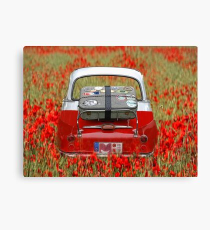 once upon a time . . . Canvas Print