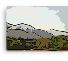 Spring Day Wasatch Canvas Print