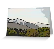 Spring Day Wasatch Greeting Card