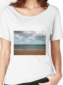 Penguin Beach, Tasmania, Australia, December, 2009. Women's Relaxed Fit T-Shirt