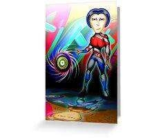 Super Easy Peasy Super Hero Greeting Card