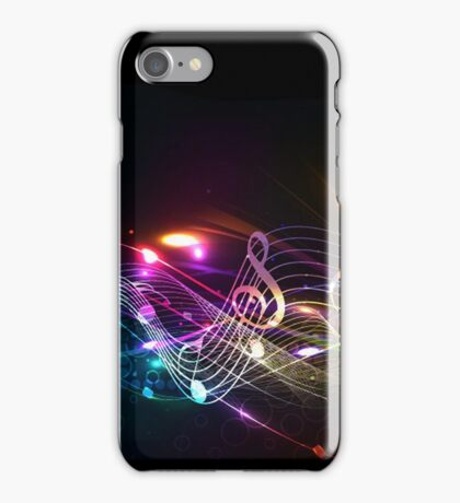 Music Notes in Color for Music-lovers iPhone Case/Skin