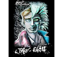 Punk Rock Two-Face Photographic Print