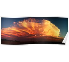 Monsoon Sunset Poster