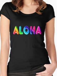 Aloha Women's Fitted Scoop T-Shirt