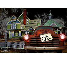 """"""" The Selling of Americana """" Photographic Print"""