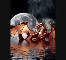 Dragon Moon Fantasy Art Design Unisex T-Shirt