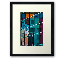 Reflection in colour Framed Print