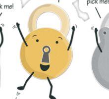 lock picking Sticker
