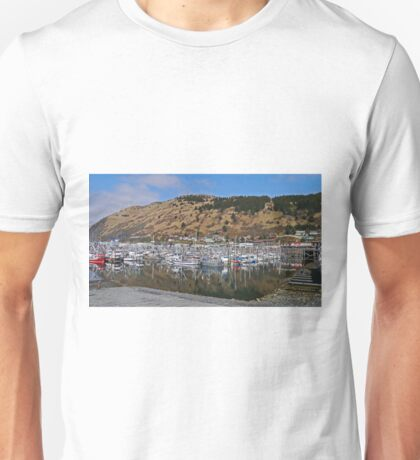 Fishing Boat Harbour, Kodiak, Alaska Unisex T-Shirt