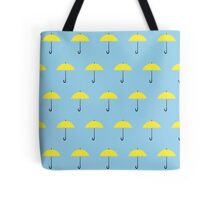 HIMYM Yellow Umbrella Tote Bag