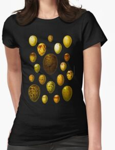 Lovely colorful wild egg collection Womens Fitted T-Shirt