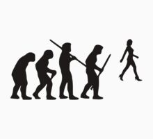 evolution of the hunter One Piece - Short Sleeve