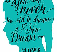 You are Never too old to dream a new Dream by sevenroses