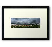 Panoramic Florence Framed Print
