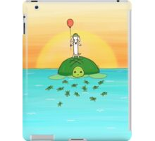 Saving Turtles iPad Case/Skin