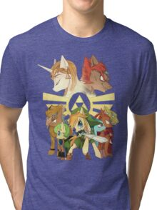 The legend of zelda (mlp) Tri-blend T-Shirt