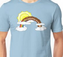 Chocolate Bacon Rainbow Unisex T-Shirt