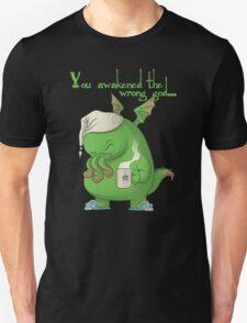 CTHULHU WOKE UP Unisex T-Shirt