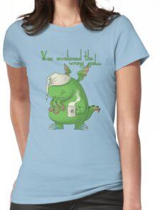 CTHULHU WOKE UP Womens Fitted T-Shirt