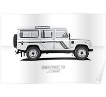 Defender 110 County Poster
