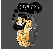 Classic dude Photographic Print